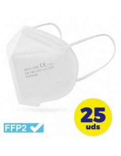 FFP2 Blancas 25 Unidades...