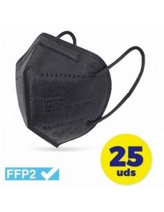 FFP2 Negras 25 Unidades...
