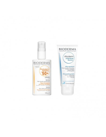 Bioderma Photoderm Mineral SPF50+ 100g + Bálsamo Ultracalmante 75ml