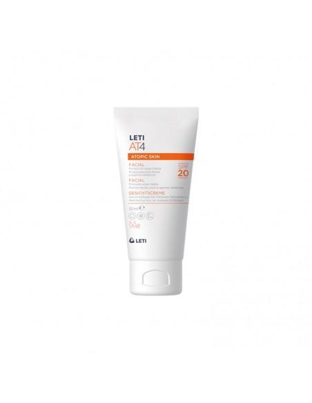 LetiAT4 Crema Facial Piel Atópica SPF20 50ml
